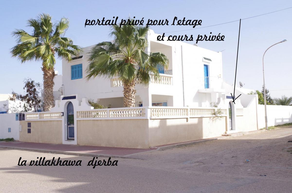 Villa KHAWA &infos DJERBA TUNISIE